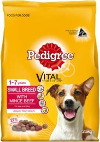 Pedigree Small Breed Mince Beef