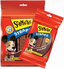 Schmackos Strapz With Beef