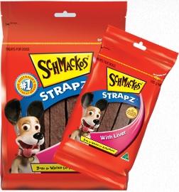 Schmackos Strapz With Liver