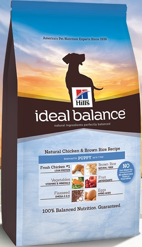 Hill's Ideal Balance Puppy Natural Chicken & Brown Rice
