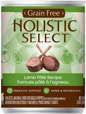 Holistic Select Grain Free Lamb (cans)