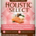 Holistic Select Grain Free Salmon, Mackeral & White Fish (cans)