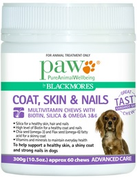 Paw Coat, Skin & Nails Multivitamin Chews