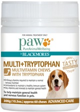 Paw Multi+Tryptophan Chews
