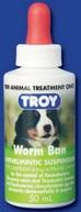 Troy Worm Ban