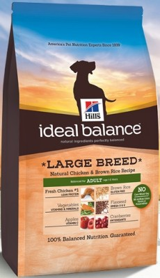 Hill's Ideal Balance Adult Large Breed Natural Chicken & Brown Rice