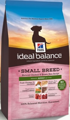 Hill's Ideal Balance Adult Small Breed Natural Chicken & Brown Rice