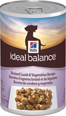 Hill's Ideal Balance Braised Lamb & Vegetables (cans)