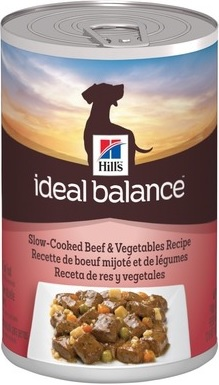Hill's Ideal Balance Slow Cooked Beef & Vegetables (cans)