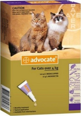 Advocate Cat Purple (Over 4kg)