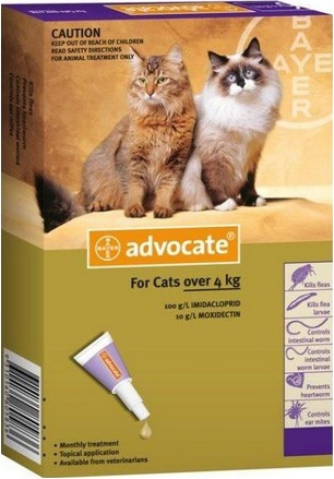 Advocate Cat Purple (Over 4kg)