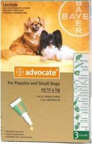Advocate Small Dog Green (0-4kg)