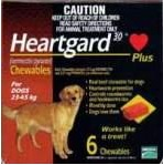 Heartgard Plus Chewables Large Dog Brown (23-45kg)