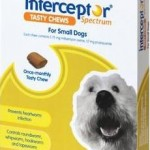 Interceptor Spectrum Tasty Chews Small Dog Green (4-11kg)