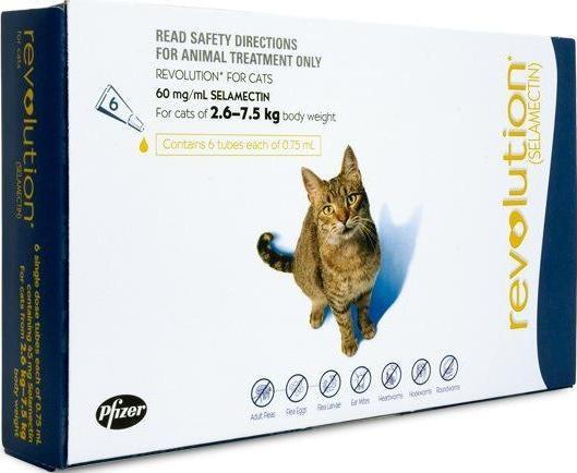 Revolution Cat Blue (2.6-7.5kg)