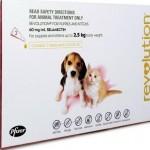 Revolution Puppies And Kittens Pink (Under 2.5kg)