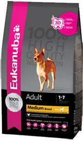 Buy Cheap Eukanuba Adult Medium Breed Dog Food Online