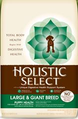 Holistic Select Large & Giant Breed Puppy Health Lamb Meal & Oatmeal