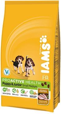 Iams ProActive Health Puppy and Junior Small Medium