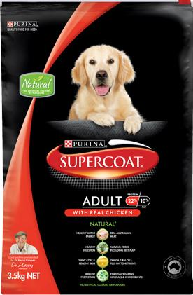 Supercoat Adult With Real Chicken
