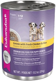 Eukanuba Puppy Entree With Fresh Chicken And Rice