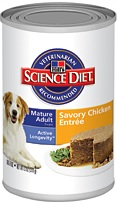 Hill's Science Diet Mature Adult Gourmet Chicken Entrée