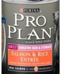 Pro Plan Adult Sensitive Skin & Stomach Salmon & Rice Entree