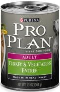 Pro Plan Adult Turkey & Vegetables Entree (Wet Food)