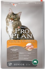 Pro Plan Senior 11+ Chicken Formula