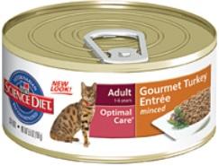Hill's Science Diet Adult Gourmet Turkey Entrée wet