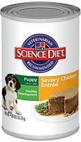 Hill's Science Diet Puppy Gourmet Chicken Entrée