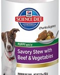 Hill's Science Diet Puppy Savory Stew with Beef & Vegetables
