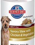 Hill's Science Diet Adult Savory Stew with Chicken & Vegetables