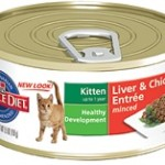 Hill's Science Diet Kitten Liver & Chicken Entrée