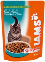 Iams Cat Adult Tuna In Jelly Pouch