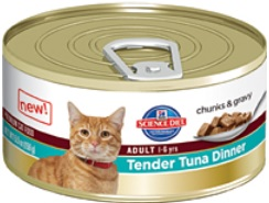 Hill's Science Diet Adult Tender Tuna Dinner (Wet Food)