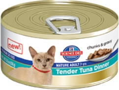 Hill's Science Diet Mature Adult Tender Tuna Dinner (Wet Food)