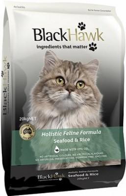 Black Hawk Feline Seafood And Rice