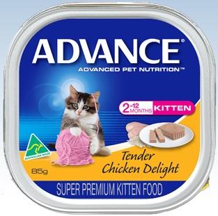 Advance Kitten Tender Chicken Delight