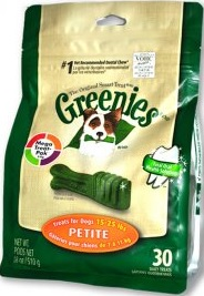 Greenies Treat Pak Petite