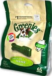 Greenies Treat Pak Teenie