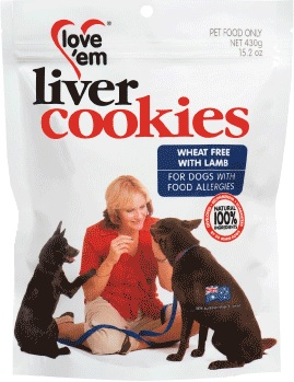 Love 'em Cookies Wheat Free With Lamb