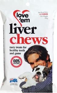 Love 'em Liver Chews
