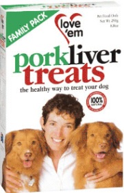 Love 'em Liver Treats Pork
