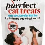Love 'em Purrfect Cat Treats Beef