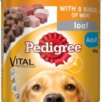 Pedigree Loaf With 5 Kinds Of Meat