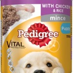 Pedigree Puppy Mince With Chicken And Rice (Wet Food)