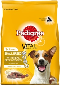 Pedigree Small Breed Beef And Vegies