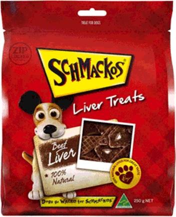 Schmackos Liver Treats Beef