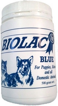 Biolac Blue Puppy And Kitten Milk Supplement